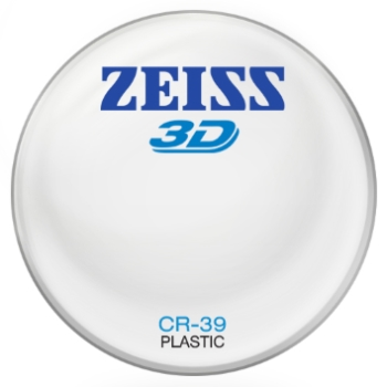 Zeiss Zeiss® 3D Plastic CR-39 Lenses