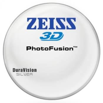 Zeiss Zeiss® 3D PhotoFusion® [Gray or Brown] Polycarbonate W/ Zeiss DuraVision Silver AR Lenses