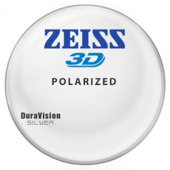 Zeiss® 3D Polarized - Hi-Index 1.67 w/ Zeiss DuraVision Silver AR Lenses