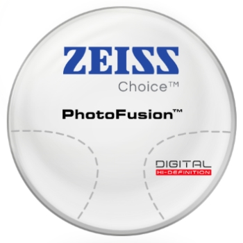 Zeiss Zeiss® Choice™ PhotoFusion® [Gray or Brown] Plastic CR-39 Progressive Lenses