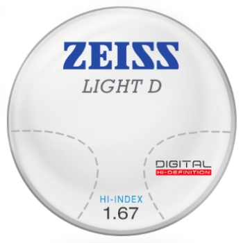 Zeiss Zeiss Light D Digital 1.67 Hi-Index Progressive Lenses