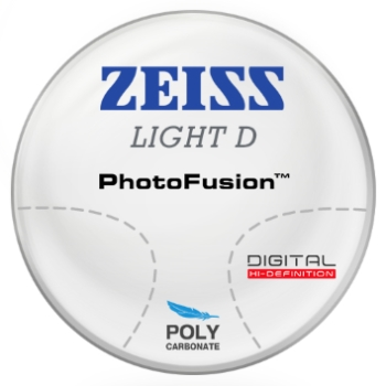 Zeiss Zeiss Light D Digital - PhotoFusion® - Polycarbonate Progressive Lenses