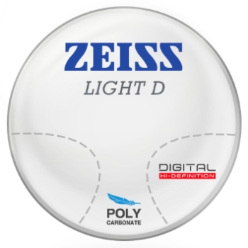 Zeiss Zeiss Light D Digital Polycarbonate Progressive Lenses
