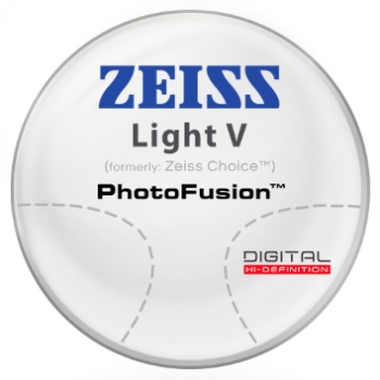 Zeiss Zeiss® Light V (Choice™) - PhotoFusion® - Polycarbonate Progressive Lenses