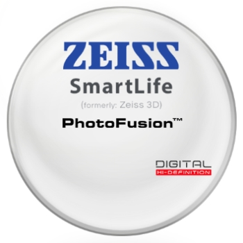 Zeiss Zeiss® SmartLife (3D) PhotoFusion® - Polycarbonate Lenses