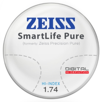Zeiss Zeiss® SmartLife Pure (Precision Pure™) - Hi-Index 1.74 Progressive Lenses
