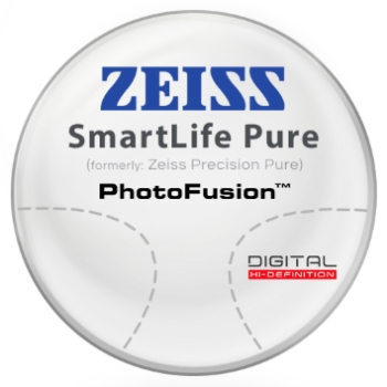 Zeiss Zeiss® SmartLife Pure (Precision Pure™) - PhotoFusion® - Plastic CR-39 Lenses