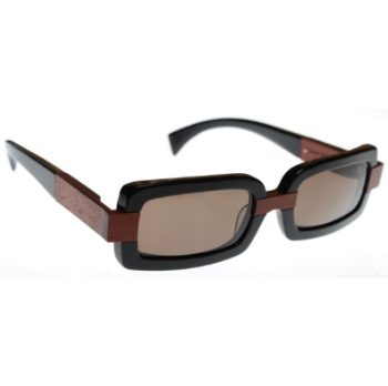 Gold & Wood Zephyr Sunglasses