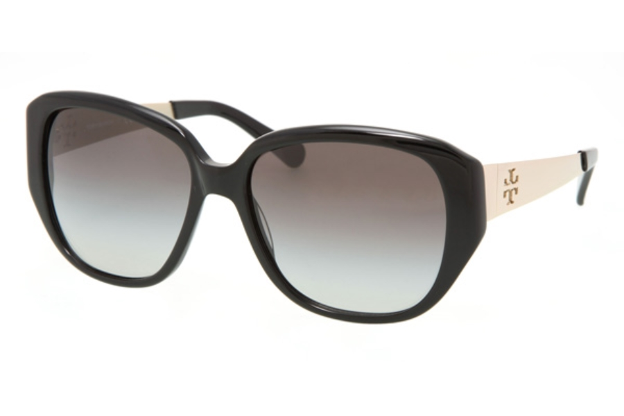 Tory Burch TY7014 Sunglasses in 501/11 Black w/Grey Gradient Lenses