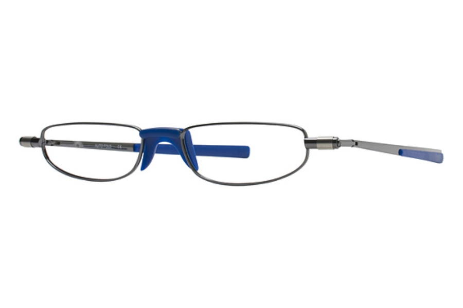 Autofold 1299 Eyeglasses in Gun Shiny