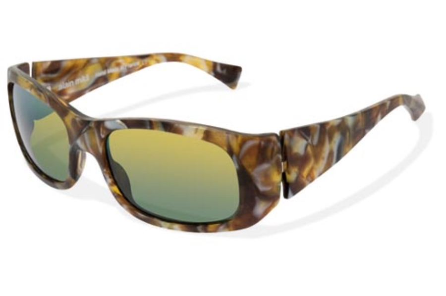 Alain Mikli AL1060 Sunglasses in 02011153 Dressed Up Gold