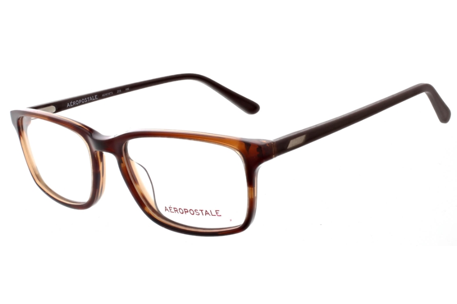 Aeropostale AEMO873 Eyeglasses in 205 Brown Horn