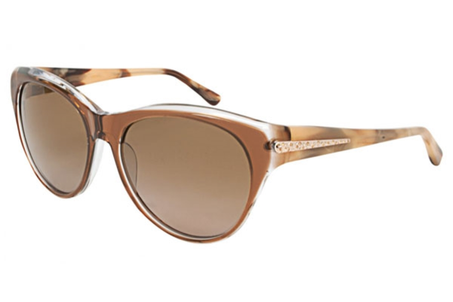 Badgley Mischka Charlize Sunglasses in Brown