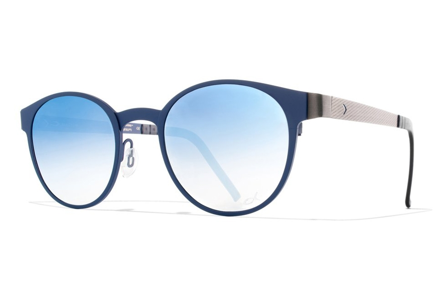 Blackfin Key West Sunglasses in 582 Blue/Titanium/Mrblue