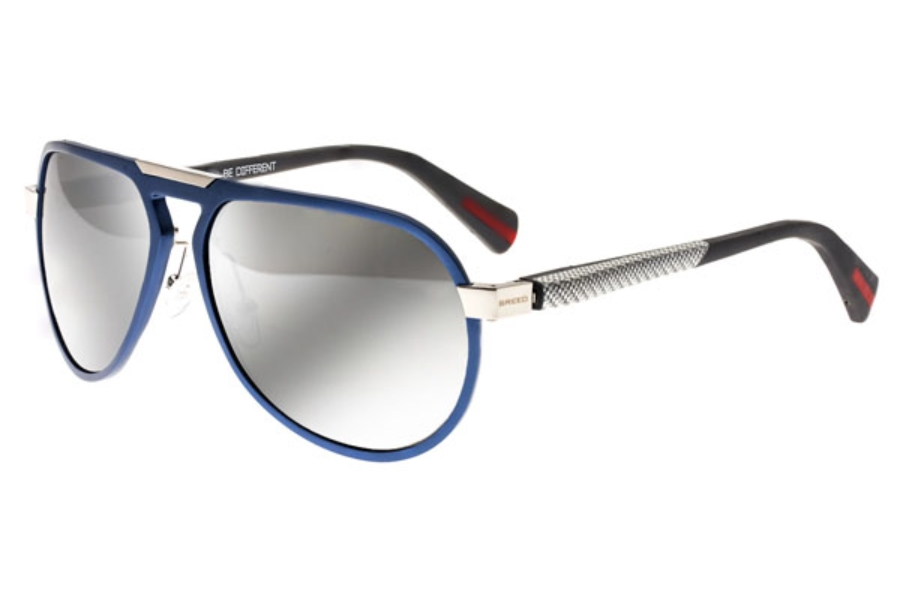 Breed Octans Sunglasses in 028BL Blue/Black