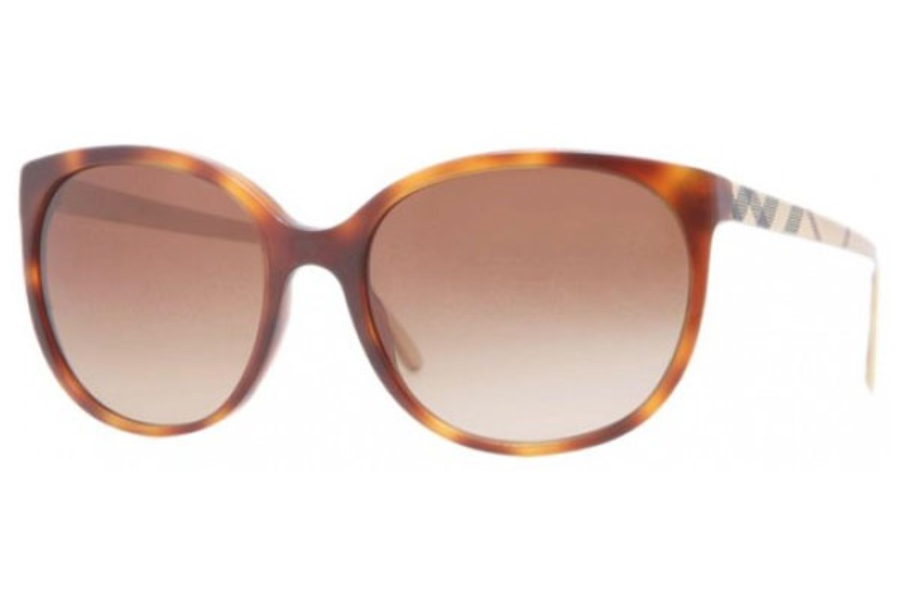 Burberry BE4146 Sunglasses in 340713 Havana brown gradient