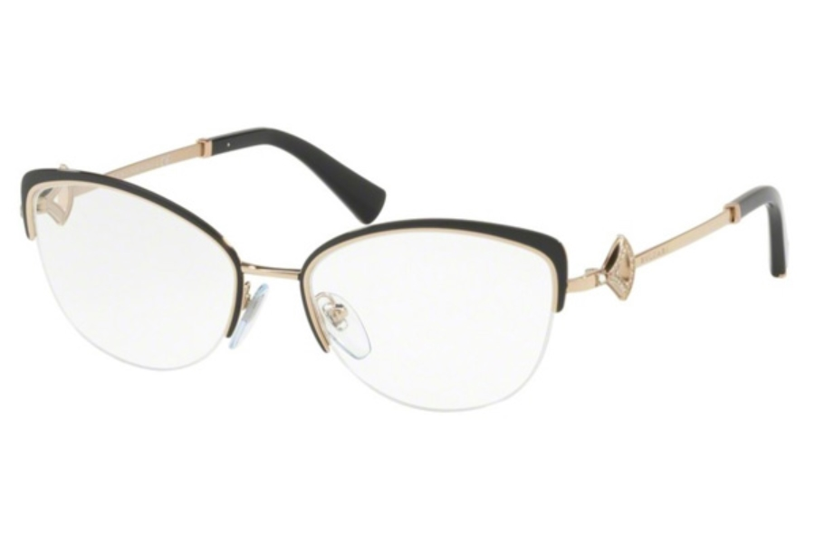 Bvlgari BV 2198B Eyeglasses in 2033 Black/Pink Gold