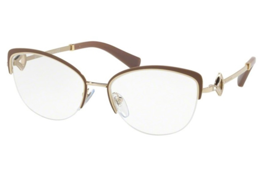 Bvlgari BV 2198B Eyeglasses in 2036 Turtledove/Pale Gold