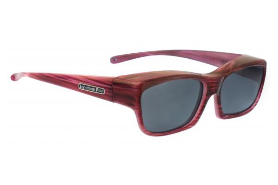 Fitovers Choopa Sunglasses in CH002 Choopa Red Licorice (Polarvue Gray)