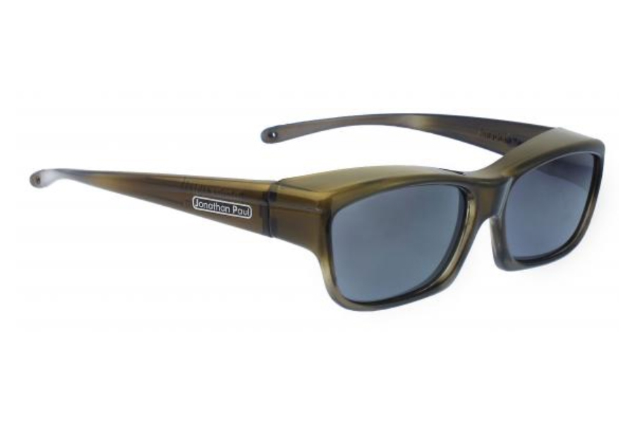 Fitovers Choopa Sunglasses in CH003 Choopa Olive Charcoal (Polarvue Gray)