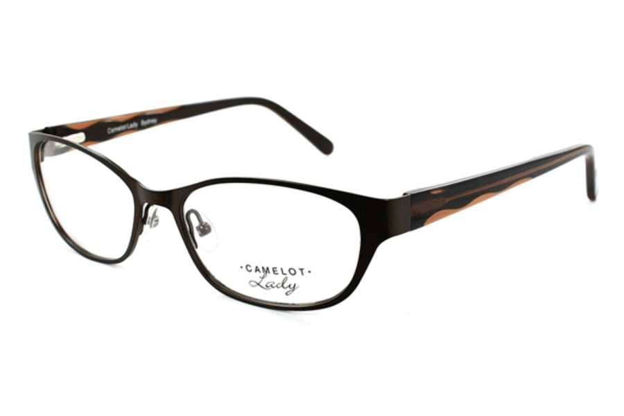 Camelot Sydney Eyeglasses in Brown (Discontinued)