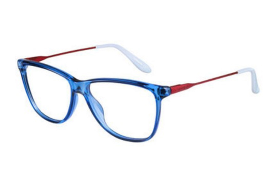Carrera CARRERA 6624 Eyeglasses in 01UT Blue Matte Orange