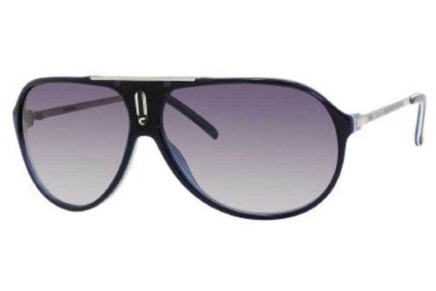 cc775672c7495 ... Carrera HOT S Sunglasses in 0YCE Royal Blue   Palladium (JJ gray  gradient lens ...