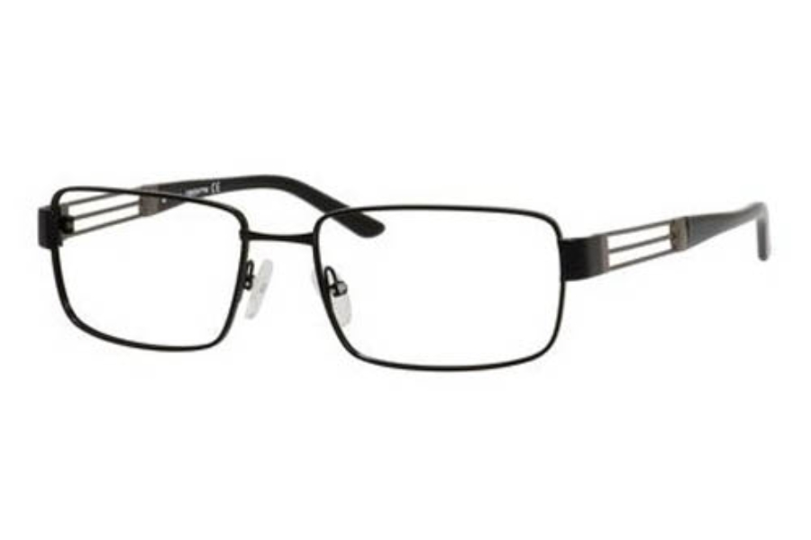 Claiborne CLAIBORNE 223 Eyeglasses in 0JTK Black Dark Ruthenium