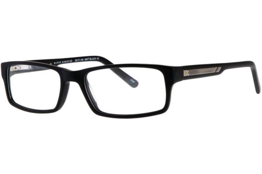 c7dfd2142a Danny Gokey Danny Gokey DG43 Eyeglasses in Matt Black ...