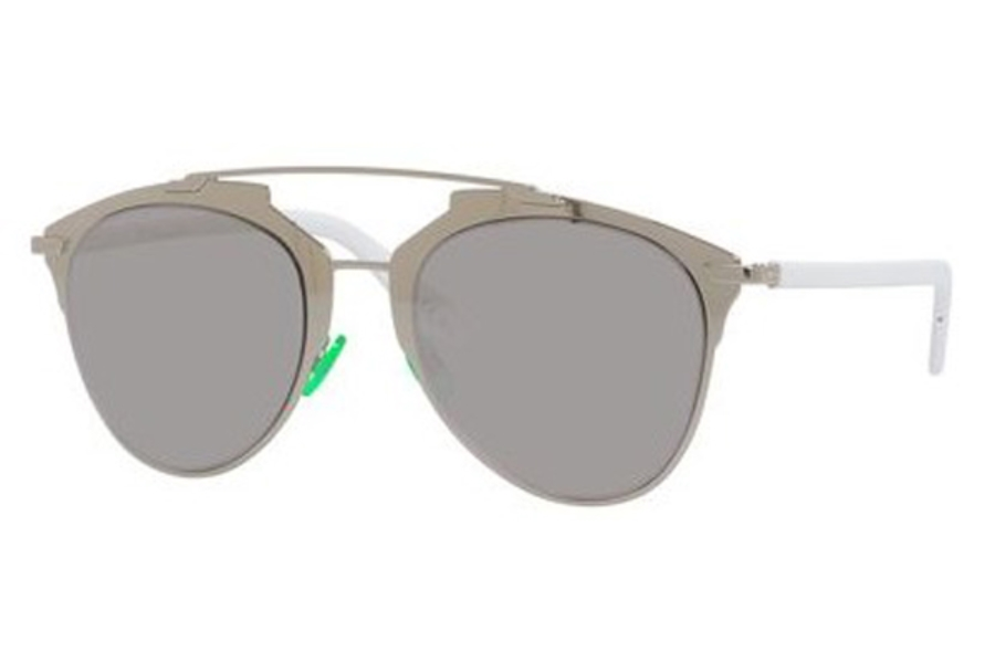 234cb5af103 ... Christian Dior Diorreflected Sunglasses in 085L Palladium White (DC sup  silver mirror lens) ...