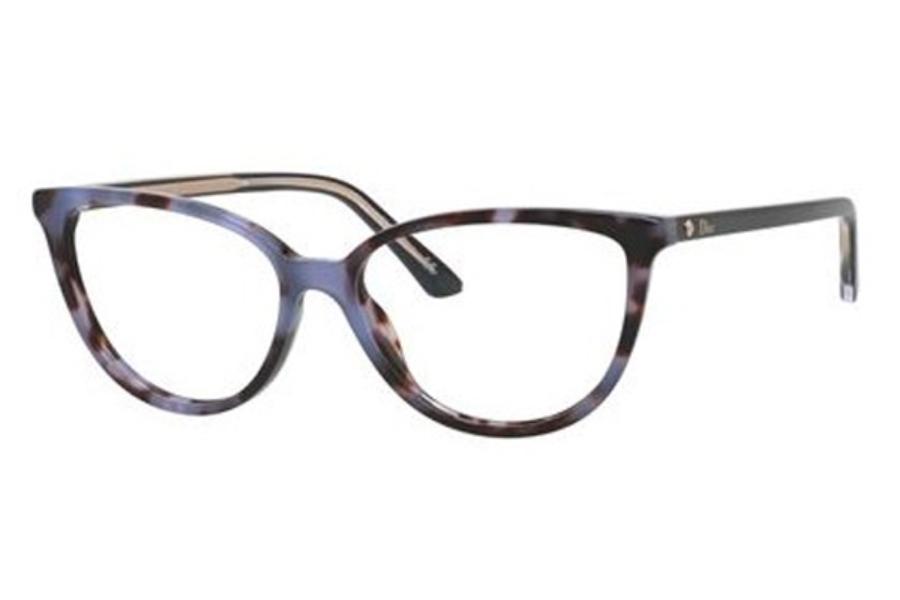 aa37047cf098e Christian Dior Montaigne-33 Eyeglasses in 0TG7 Mauve Havana Black ...
