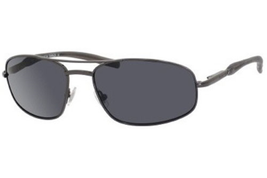 Fossil JUMPER/S (Flex Hinge) Sunglasses in 0C2K  Shiny Gunmetal w/Gray Polarized Lenses - (0C2K/RA) (Discontinued)