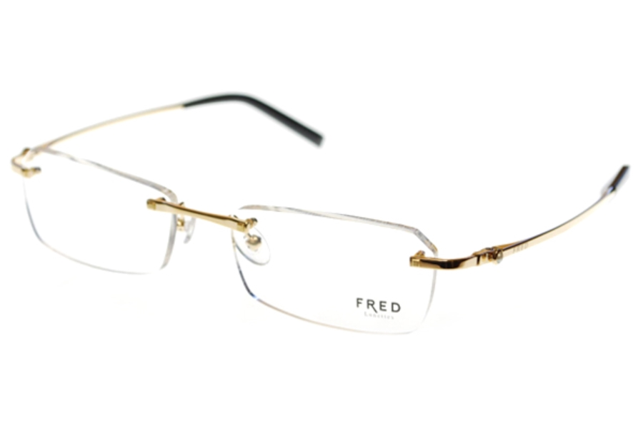 a3ca627606 FRED STE LUCIE F2 8206 Eyeglasses in 001 Pearl/Champagne Gold ...