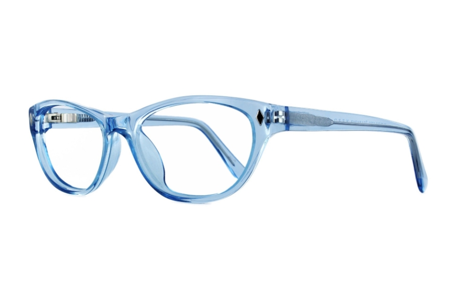 Geek Eyewear GEEK CAT 02 Eyeglasses in Blue Lily