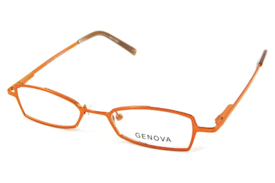 Genova GA803 Eyeglasses in Orange