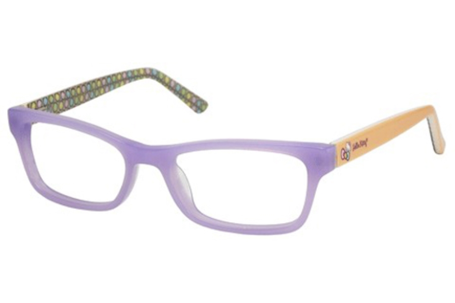 Hello Kitty HK 262 Eyeglasses in Purple