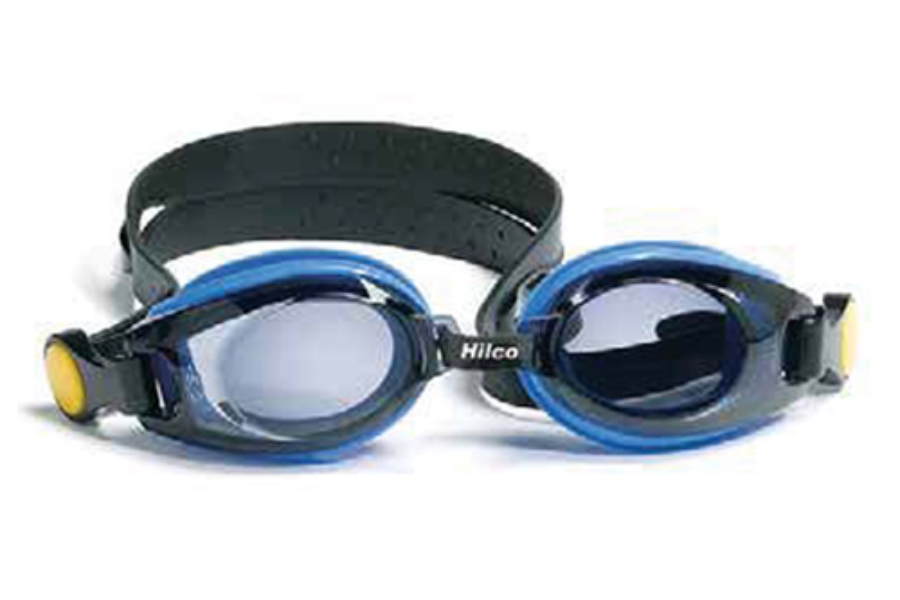 Hilco Leader Sports Vantage Kids Complete Swim Goggle with Minus Lens Power Goggles in 333320500 Blue -5.00
