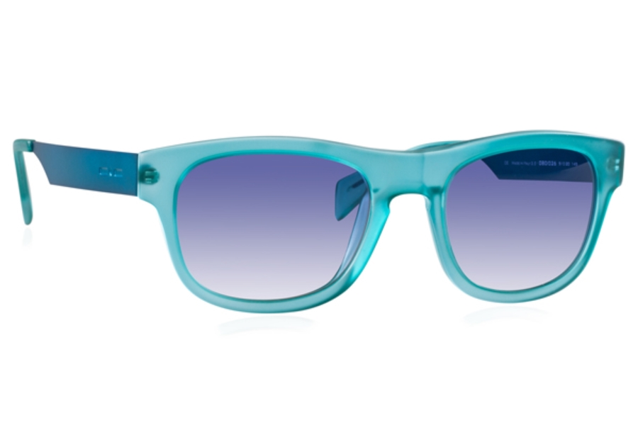 Italia Independent 0080 Sunglasses in 026 Oil / Blue / Shaded