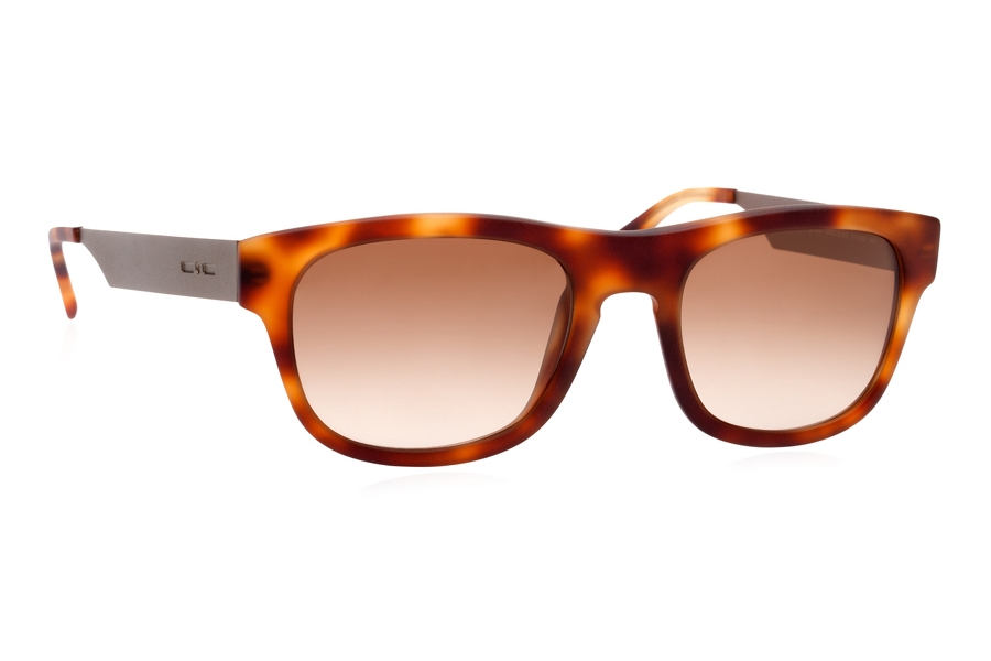 Italia Independent 0080 Sunglasses in 090 Havana / Brown / Shaded