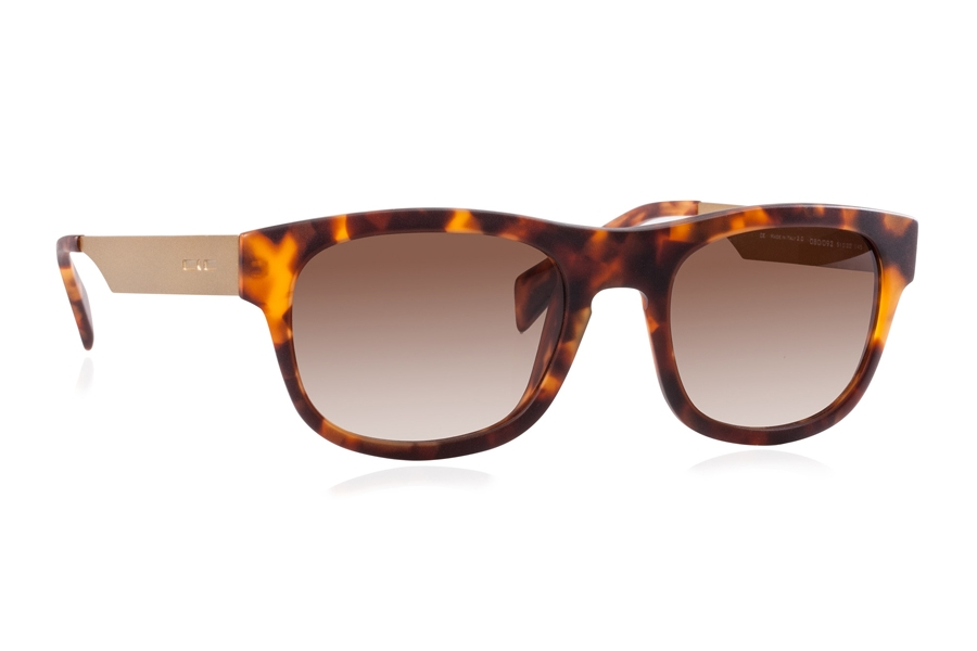 Italia Independent 0080 Sunglasses in 092 Havana 3 / Brown / Shaded