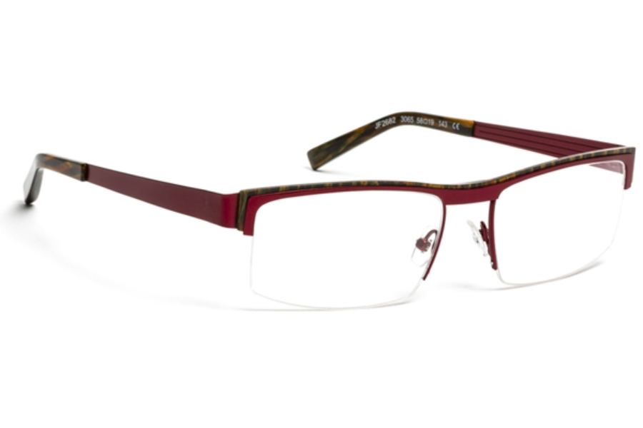1e28315f1d9c ... J.F. Rey JF 2682 Eyeglasses in 3065 Bronze Red   Brown Orange ...