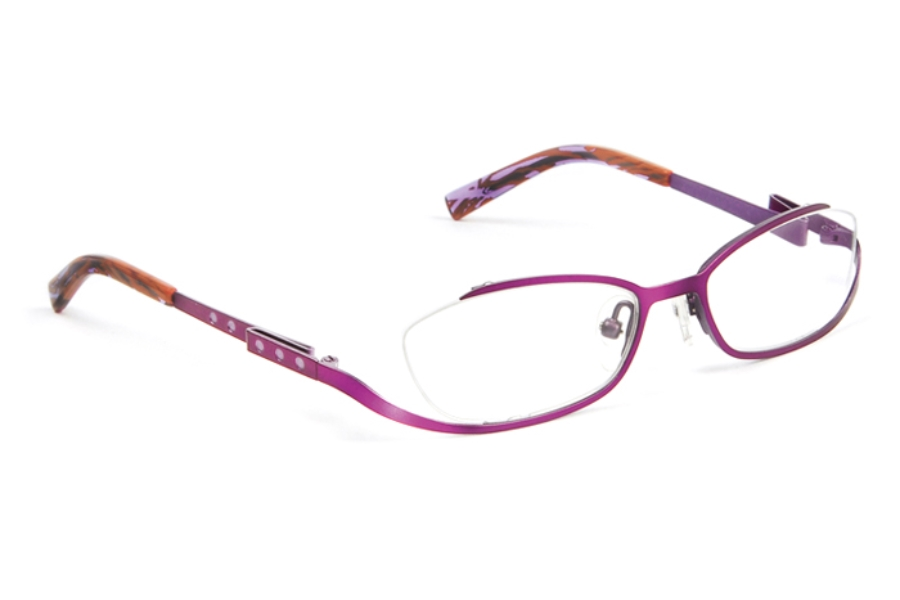 J.F. Rey Kids & Teens JKH HARMONY Eyeglasses in 7970 Plum - Purple