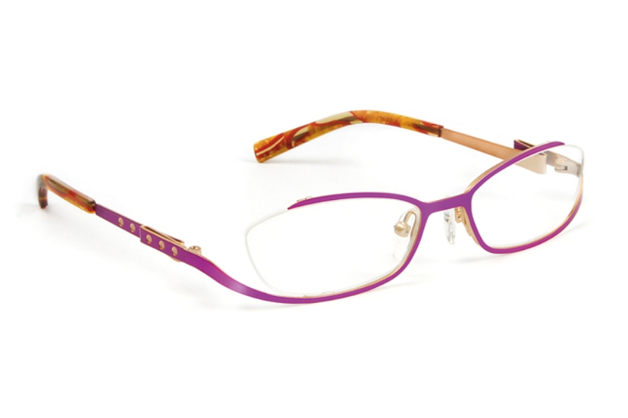 J.F. Rey Kids & Teens JKH HARMONY Eyeglasses in 8050 Pink - Gold