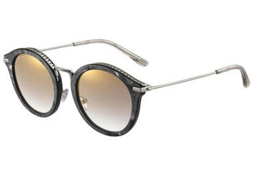Jimmy Choo BOBBY/S Sunglasses in 09AN Black Pearl (JL brown ss gold lens)