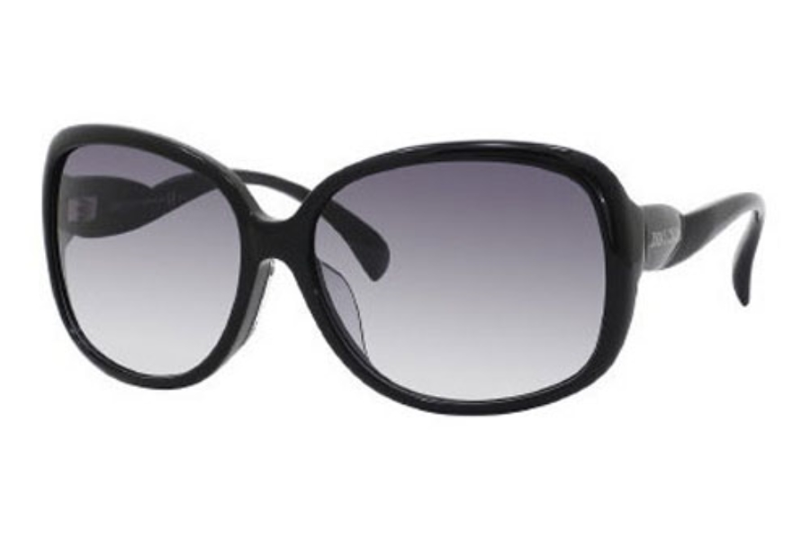 Jimmy Choo DAHLIA/F/S Sunglasses in 0807 Black (JJ gray gradient lens)