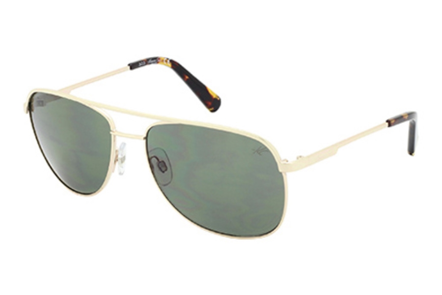 Kenneth Cole New York KC7153 Sunglasses in 32N Gold / Green