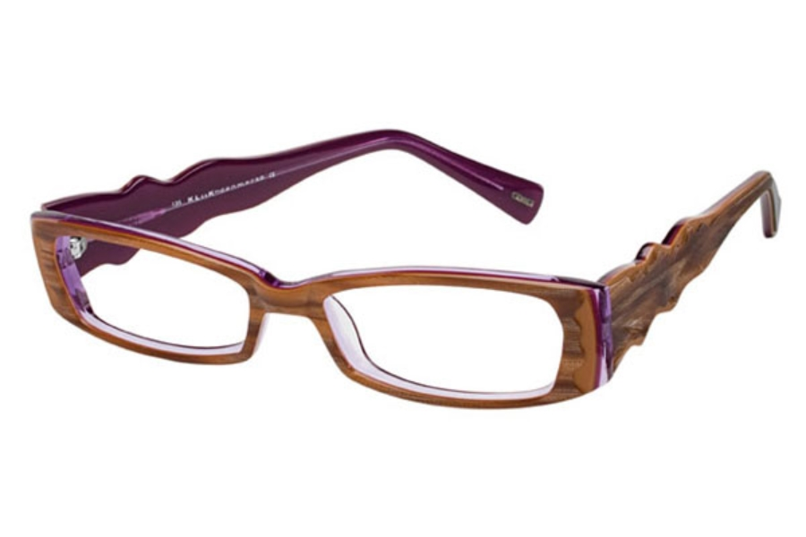Kliik KLiiK 403 Eyeglasses in 603 Caramel Purple