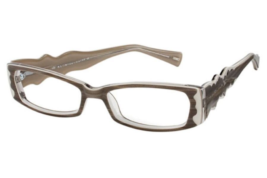 Kliik KLiiK 403 Eyeglasses in 604 Grey White