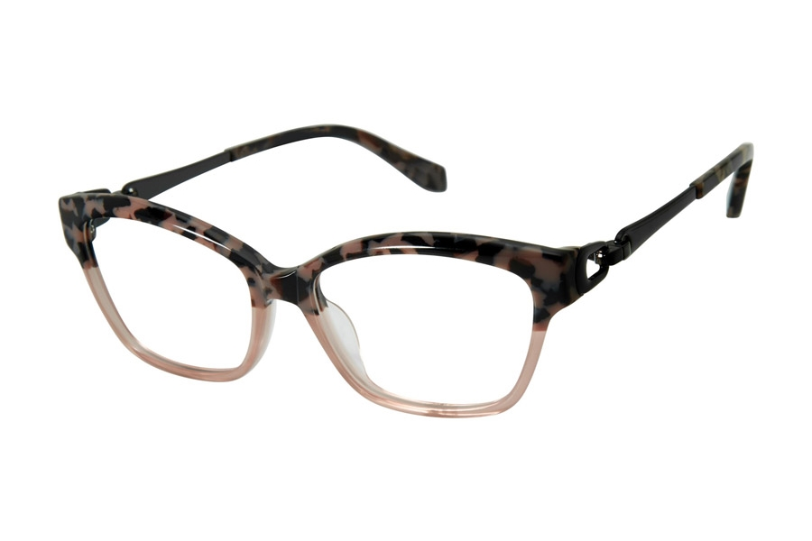 Tura by Lara Spencer LS100 Eyeglasses in BLS Blush Tortoise