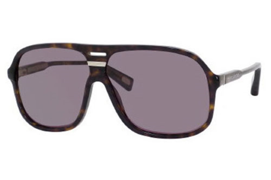 Marc Jacobs 344/S Sunglasses in 0086 Dark Havana (BN dark gray lens)